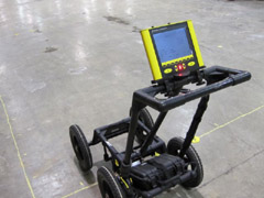 Pegasus Environmental GPR images